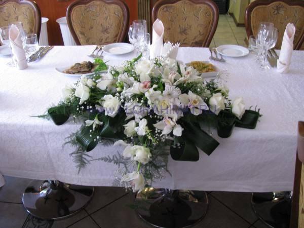 Композиция на стол молодоженов мастер класс